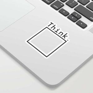 Think Sticker