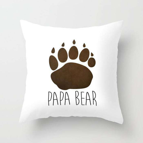 Papa Bear - Fathers Day - Cushion