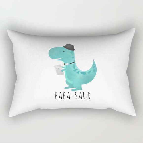 Papa Saur Pillow Cover
