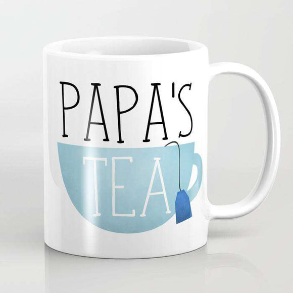 Papas Tea - Fathers Day - Mug