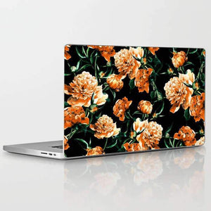 Laptop Skin Floral Abstract