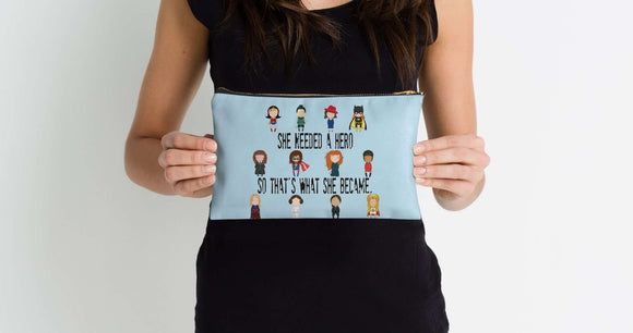 Super Hero - Zipper Pouch
