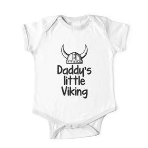 dc3ebde9 Daddy's Little Viking - Baby Romper