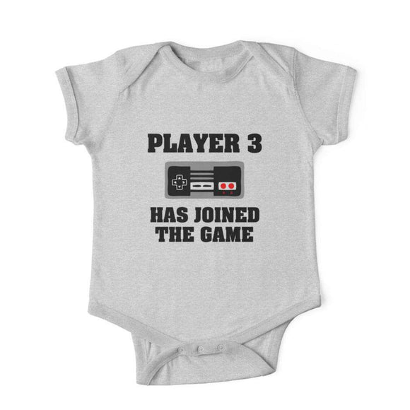 Player 3 Has Joined The Game - Baby Romper