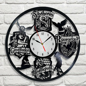 Harry Potter - Houses Name - Acrylic Clock