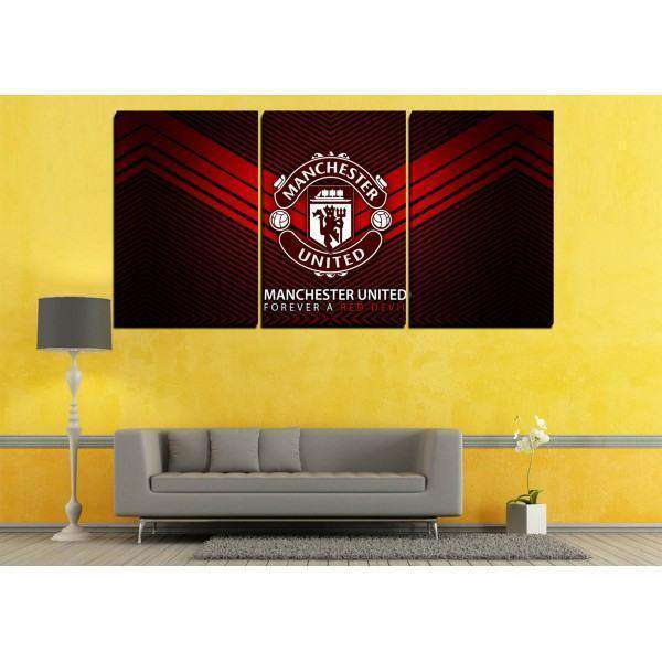 Manchester United - Set Of 3 - Wall Hangings