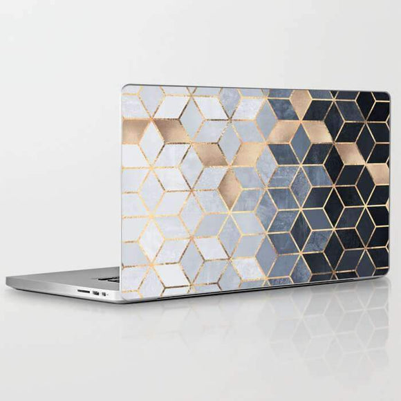 Laptop Skin Soft Blue Gradiant