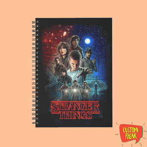 Notebook Stranger Things 02