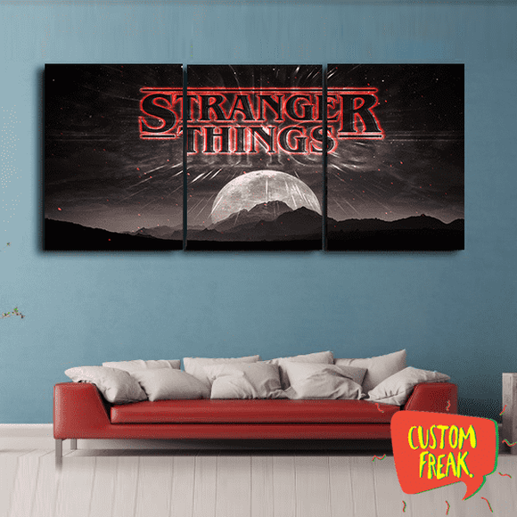Stranger Things - Set Of 3 - Wall Hangings