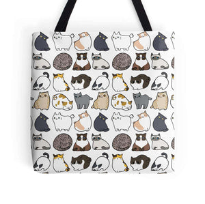 Cats Pattern - Tote Bag