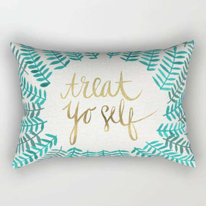 Treat Yourself Pillow Cover