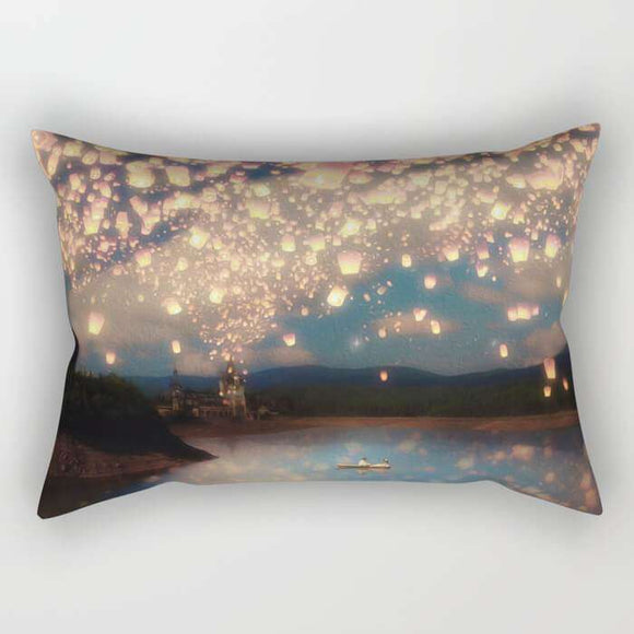 Latern Sky Pillow Cover