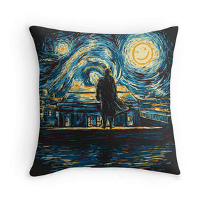 Van Gogh Sherlock Cushion
