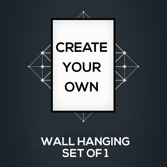 Create your Wall Hangings