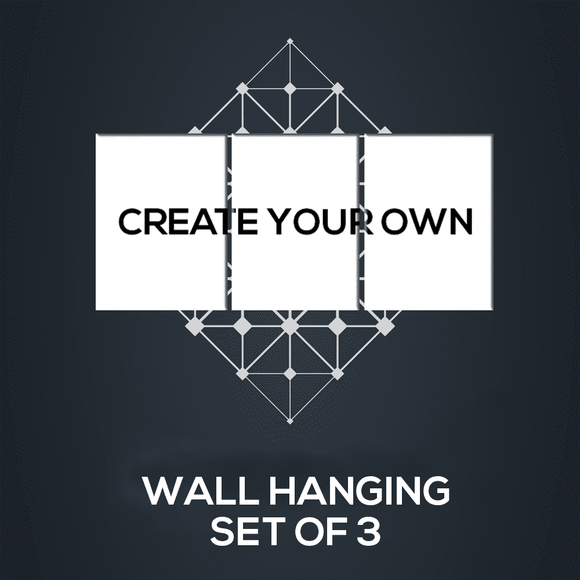 Create your Set of 3 - Wall Hangings