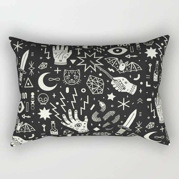 Witchcraft Pillow Cover