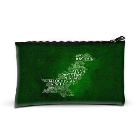 Pakistan - Independence Day Merchandise - Zipper pouch - Custom Freaks