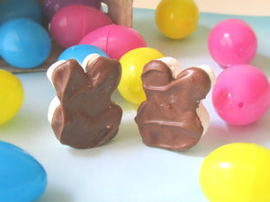Chocolate Dipped Mini Bunnies