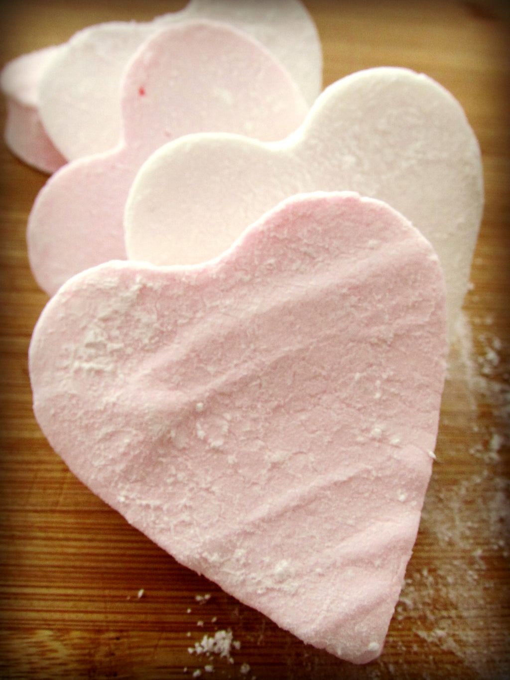Heart Shaped Marshmallow Mug Toppers