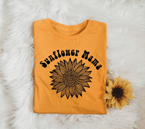 Sunflower Mama - Unisex Fit - Yellow Gold