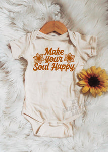 Make your Soul Happy - Baby Bodysuit - More Colors