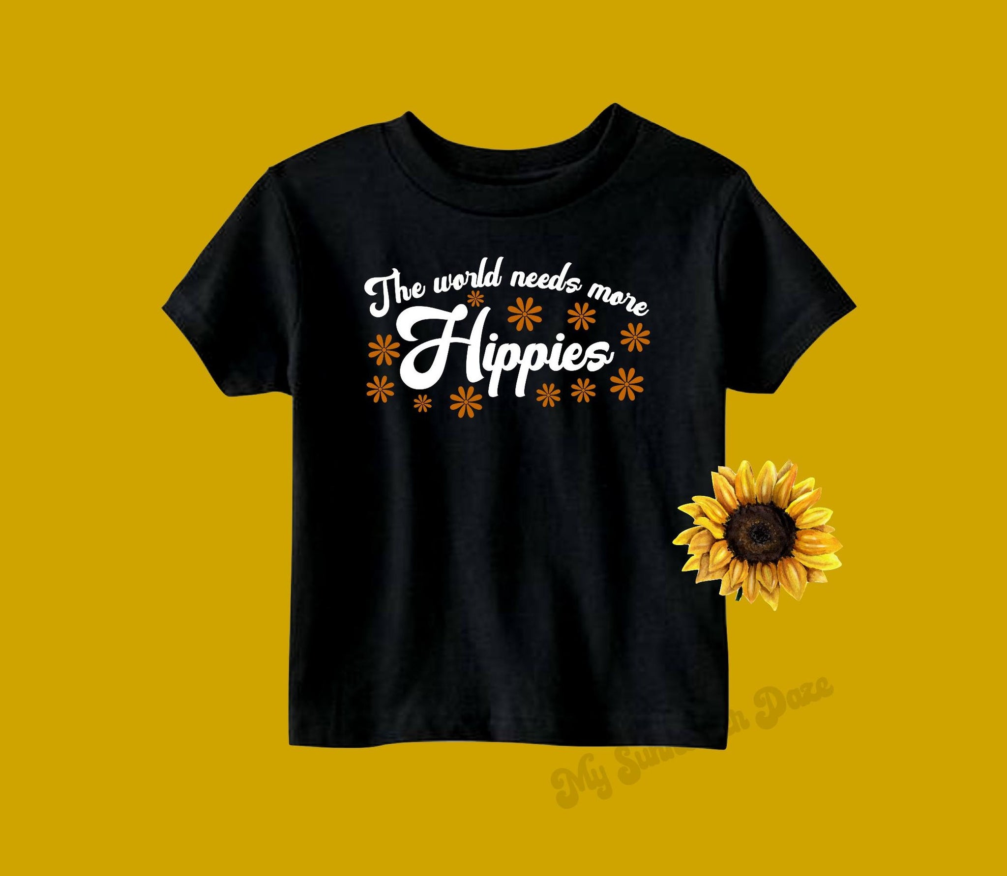 The world needs more Hippies - Toddler / Youth Tees - Two Colors