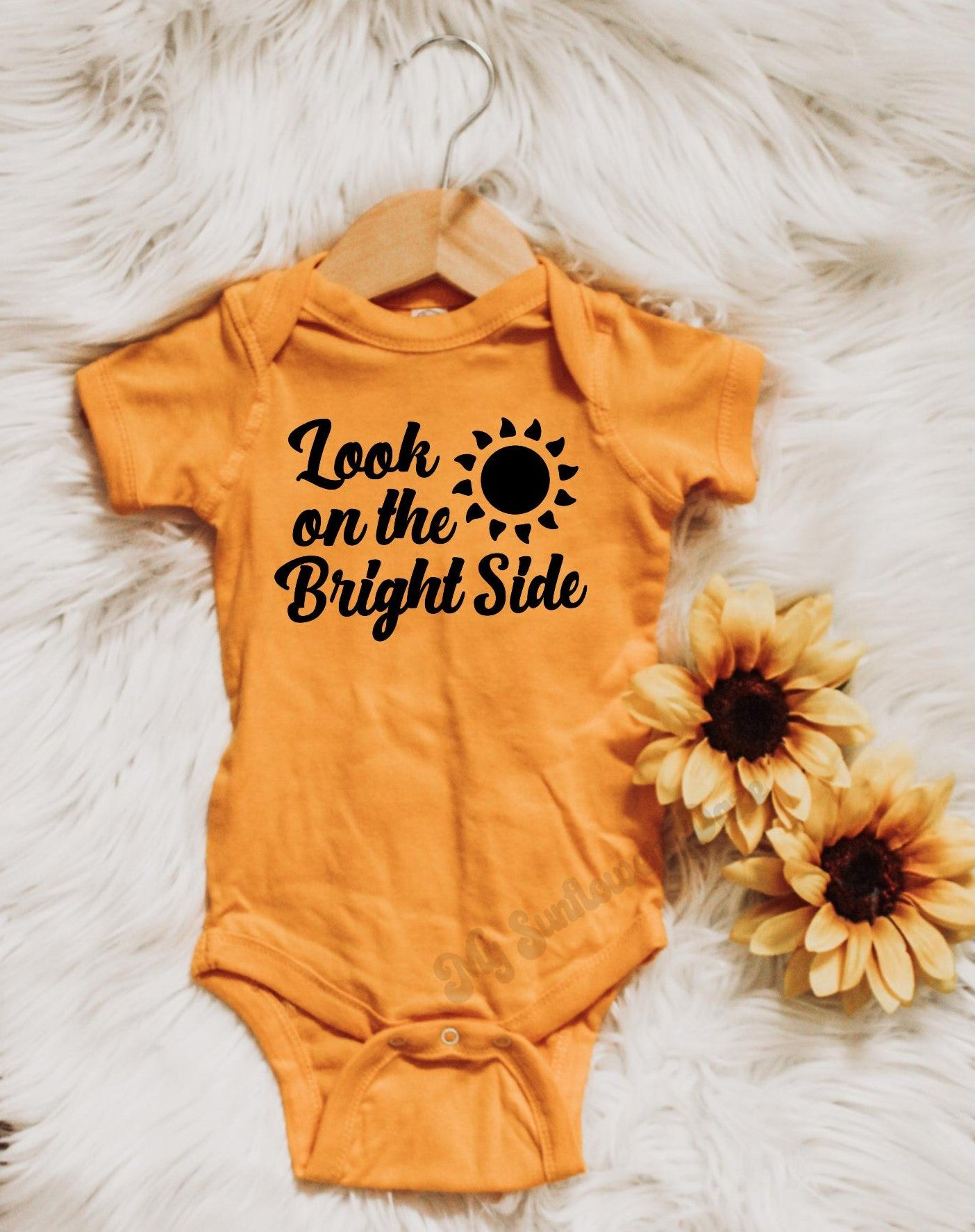 Look on the Bright Side  - Baby Bodysuit - More Colors
