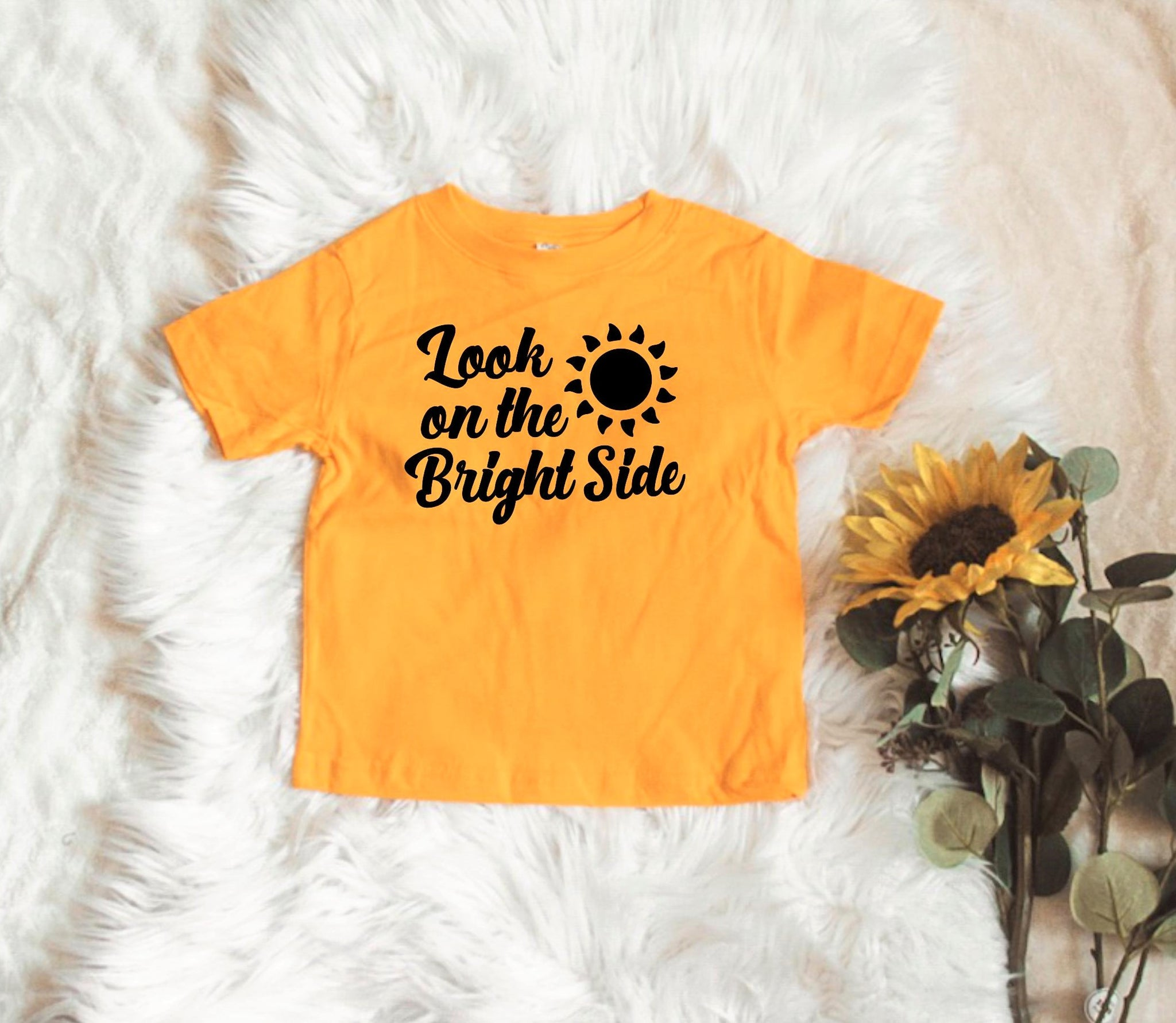 Look on the Bright Side - Toddler / Youth Tees - More Colors