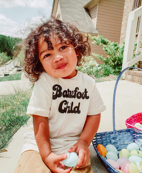 Barefoot Child - Toddler / Youth Tees - Two Colors
