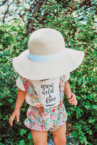 Grow Wild and Free -  Baby Bodysuit - Two Colors