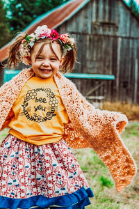 Bee You - Toddler / Youth Tees - More Colors