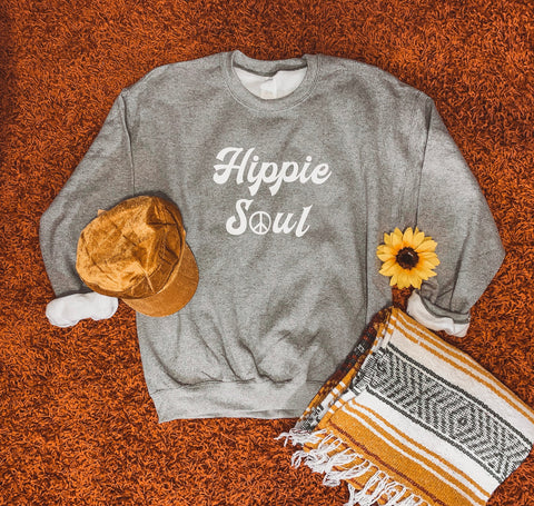 Hippie Soul - Unisex Sweatshirt - Two Colors