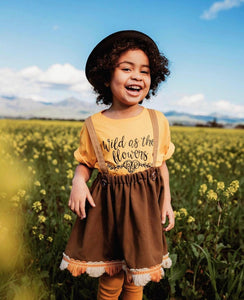 Wild as the flowers - Toddler / Youth Tees - Two Colors