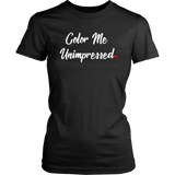 """Color Me Unimpressed"" Red Period Project Tee"