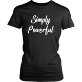 Simply Powerful Red Period Project Tee