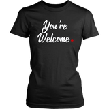 """You're Welcome"" Red Period Project Tee"