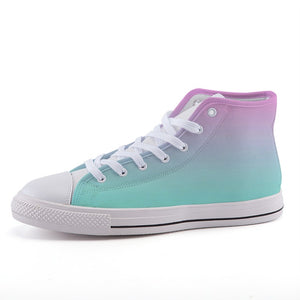 Pink Pastel on Green Sneakers - Prime Desire Sportswear - Best High Waisted Leggings