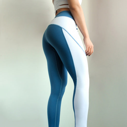 95ef0d5f550a31 ... Stylish Blue Yoga pants - Prime Desire Sportswear - Best High Waisted  Leggings ...