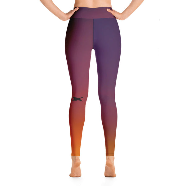 SunsetBirds Yoga Leggings - Prime Desire Sportswear