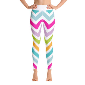 Elegant Stripes Leggings - Exclusive Design - Prime Desire Athleisure - Best High Waisted Workout Leggings