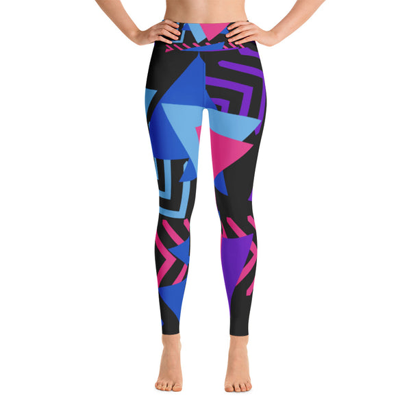 Rude Yoga Leggings - Exclusive Design - Prime Desire Sportswear - Best High Waisted Leggings