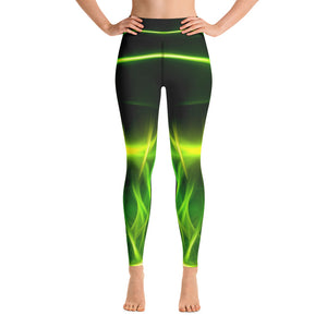 Extraterrestrial Gym Leggings - Exclusive Design - Prime Desire Athleisure - Best High Waisted Workout Leggings