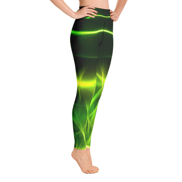 Extraterrestrial Gym Leggings - Exclusive Design - Prime Desire Sportswear - Best High Waisted Leggings