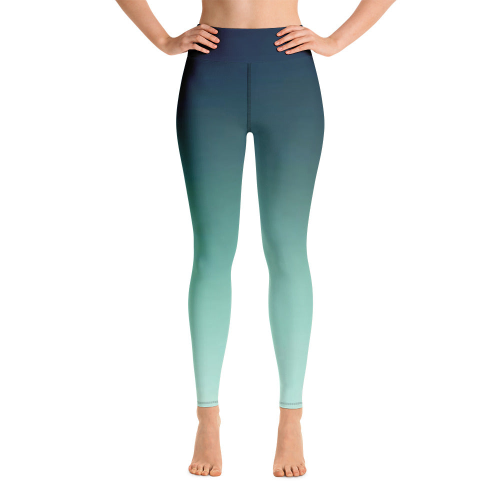 Magick Ombre Leggings - Exclusive Design - Prime Desire Athleisure - Best High Waisted Workout Leggings