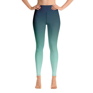 Magick Ombre Leggings - Exclusive Design - Prime Desire Sportswear - Best High Waisted Leggings