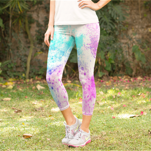Inksplash Yoga Pants