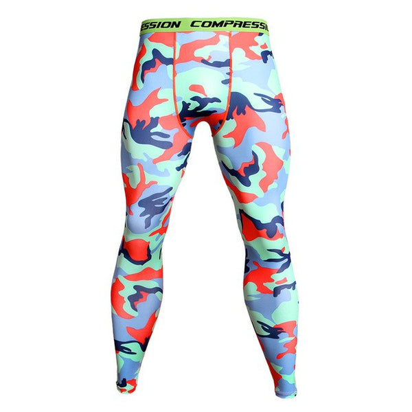 Camouflage Leggings for Men - Prime Desire Athleisure - Best High Waisted Workout Leggings
