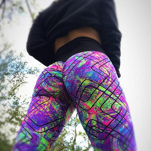 Flashy High Waist Leggings - Prime Desire Sportswear - Best High Waisted Leggings