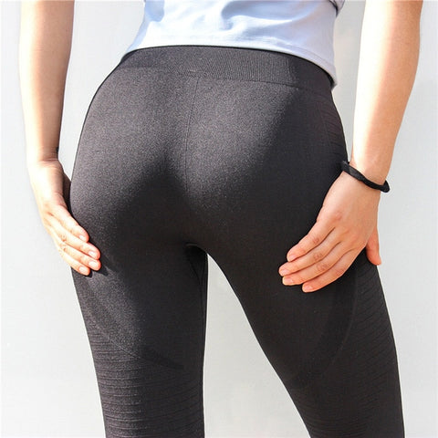 Gymjunkie High Waist Leggings - Black - Prime Desire Athleisure - Best High Waisted Workout Leggings