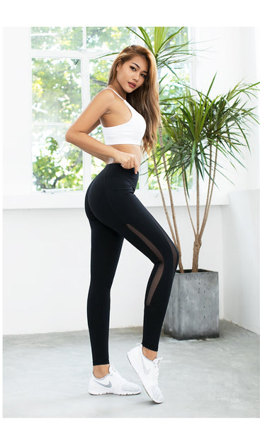 Parisian Design High Waist Leggings - Prime Desire Sportswear - Best High Waisted Leggings